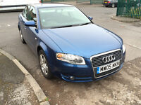 2005 AUDI A4 2.0 TDI 140 BHP, GOOD RUNNER, LONG MOT