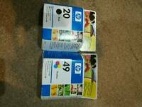Hp inkjet print cartridge x2