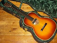 Collings 002H G SB small body acoustic 2001 Herringbone German spruce top, rosewood back and sides