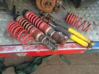 Vw lupo coilovers like new