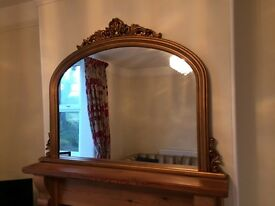 Beautiful Overmantel French Mirror | Like New