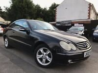 Mercedes-Benz CLK 2.6 CLK240 Avantgarde Automatic Full Service History 2 Owners 2 Keys 1 Year MOT