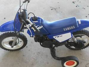 $600 Firm pw50 with training wheels yamaha pee wee50 Midland Swan Area Preview