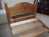 John Smiths pine bed.