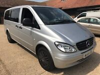 MERCEDES VITO 111 CDI long 2005/55 MPV W/C ramp PCO.