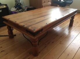 PRICE DROP!!!!!! Solid Hardwood coffee table