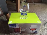 NEW 6 Bistro Banquet Brandy Glasses