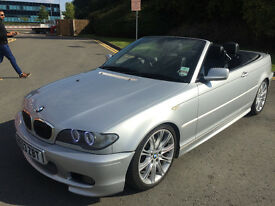 BMW 330ci M Sport Convertible & HARD TOP / Auto / Angel Eyes / Sat Nav / Xenons / Eibach Springs