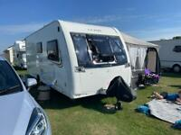 2013 Lunar Lexon 530 4 berth fixed caravan