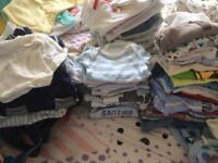 100+ items - baby boys bundle tiny baby, newborn & 0-3 months
