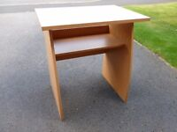 Small desk for computer or writing