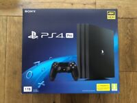 Sony Playstation 4 Pro - As New Only 2 Months Old