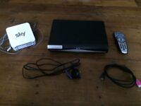 SKY box and remote in excellent condition