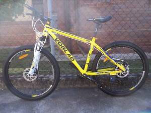 Sell new high quality yellow ALLOY VORLAD mtb/ diskbrakes/SHIMANO Fairfield Brisbane South West Preview
