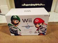 Nintendo Wii Mario kart pack complete