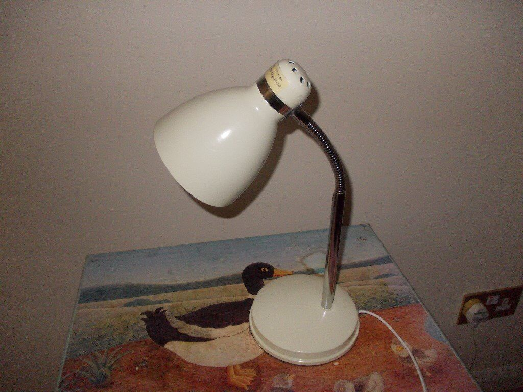 Homebase Desk Lamp Very Good Condition In Wigston