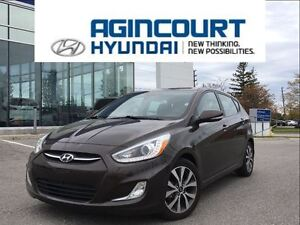2015 Hyundai Accent GLS/SUNROOF/ONE OWNER/ONLY 26519KMS