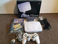 BOXED PS1 SLIM GAMES CONSOLE