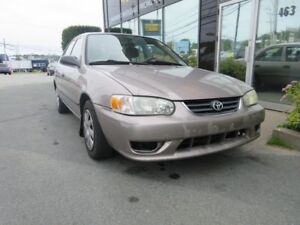 2001 Toyota Corolla CE+ AUTO WITH ONLY 200K