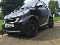 Smart ForTwo Black SatNav Bluetooth BlackAlloys