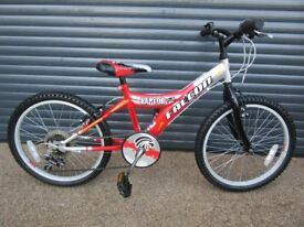 CHILDS FALCON RAPTOR BIKE IN EXCELLENT LITTLE USED CONDITION.. (SUIT APPROX. AGE. 6 / 7+)..