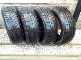 195 65 15 XL Winter Snow Tyres, Set of Four