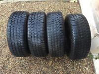 BMW Winter tyres - 1 and 3 series E90, E91, E92 - PRICE REDUCED