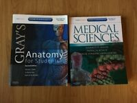 MEDICAL TEXTBOOKS for SALE! Two for £20! Medical Sciences and Gray's Anatomy