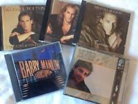 Barry manilow and Michael Bolton cds