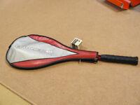 Dunlop squash racquet & 4balls