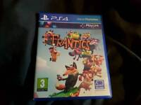 Frantic ps4 game
