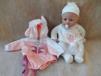 Baby Annabell - turning head doll