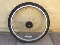 Bike wheel 24 x 1.9