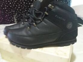 Mens Fire Trap Boots Size 9 worn once like new
