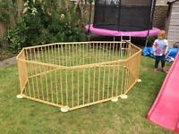 Wooden Play Pen for Children or Dogs