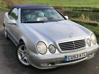 2004 Mercedes clk 230 convertible AUTOMATIC