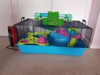 Hamster Heaven cage and 'Wodent' wheel