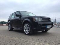 2010│Land Rover Range Rover Sport 3.0 TD V6 HSE 5dr│REVERSE CAMERA│DVD SCREEN│2 KEYS│1 FORMER KEEPER