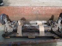 Rear axle for Citroen berlingo/peugeot partner