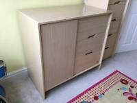 Childrens bedroom dresser