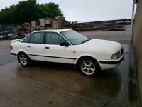 Audi 80 1995 Full years mot