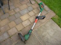 Battery Powered Lawn Strimmer SOLD SOLD SOLD