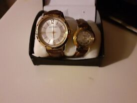 His and hers strada watches never used