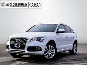 2016 Audi Q5 2.0T Progressiv, New Tires & Brakes