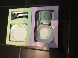 Viners 6-piece baby cutlery set (ideal for a christening gift)