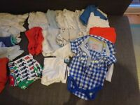 Bundle of 6-9 month baby clothes