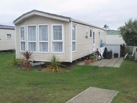 Winchester Willerby static caravan 38ft x 12ft