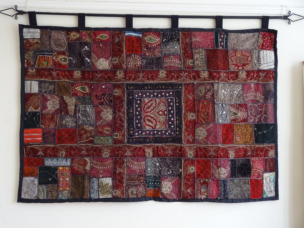 Large Indian Fabric Wall Hanging | in Croydon, London ...