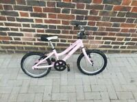 Ridgeback Melody 16 Girls Bike-Pink 3 to 6 years good condition and fully working