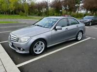 Mercedes-Benz C Class 1.8 C180 AMG CGI blue efficiency, FSH, Grey, 2 previous owners, 2010